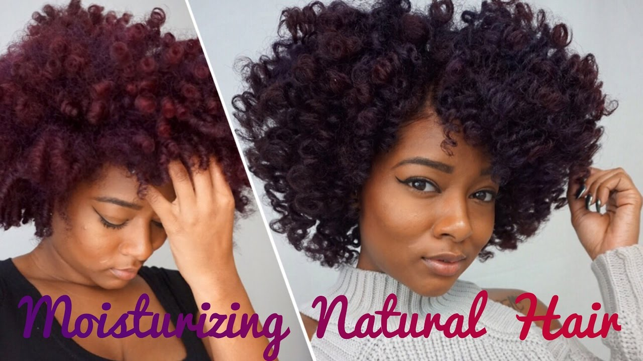How To Properly Moisturize Natural Hair Ft Fortify D