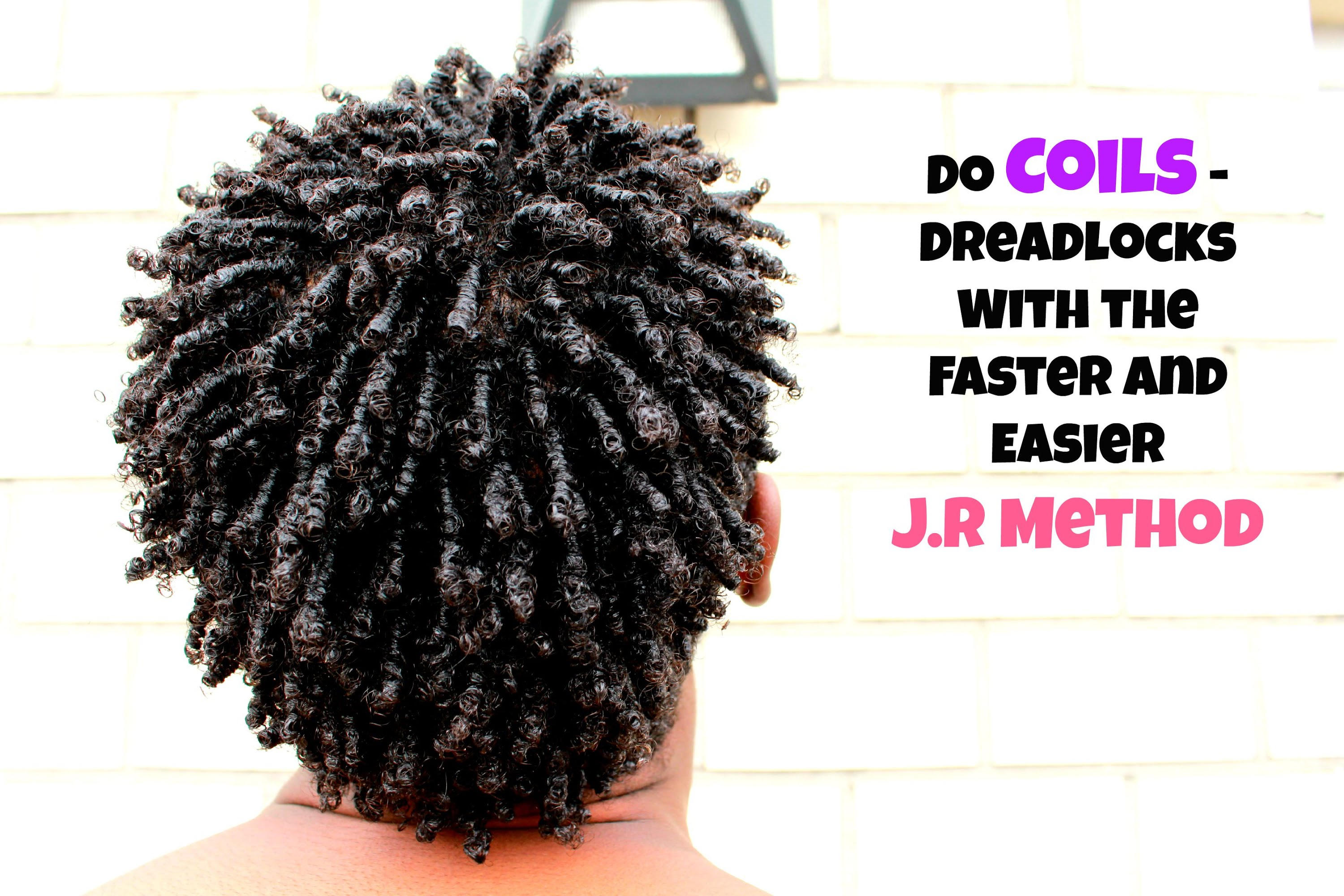 men hair: how to coils / dreadlock with the j.r method
