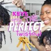 Keys To The Perfect Twistout On 4C Hair | Detailed & Realistic