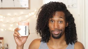 Melanin Haircare Twistout and Product Review